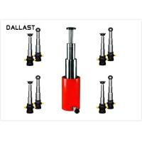 Buy cheap RoHS Welded Regular Pressure  Telescopic Hydraulic Ram for Side Dumper from wholesalers