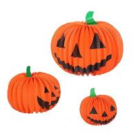 Buy cheap Unique Shaped Paper Halloween Decorations , 30cm Halloween Design Paper Craft from wholesalers