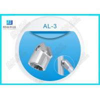 Wholesale Silver Die Casting Aluminium Tube Joints / Female Aluminum Tubing Connectors from china suppliers