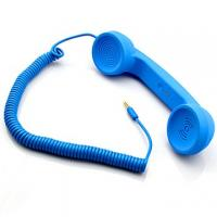 retro pop handset with talking buttons and remote volume control