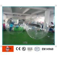 China Transparent PVC / TPU Inflatable Water Walking Ball , Attractive blow up Water Ball on sale