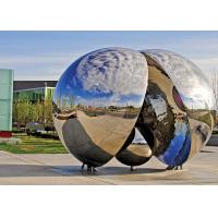 Wholesale Contemporary Outdoor Metal SculpturePolished Finishing Corrosion Stability from china suppliers