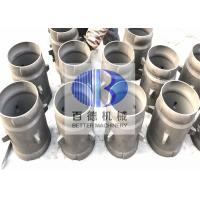China BD SiSiC Reaction Bonded Silicon Carbide Ceramic Burner Immersion Tube for sale