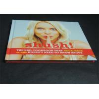 Wholesale Glossy Paper Lamination Embossed Cookbook Hardcover Book Printing 350gsm from china suppliers
