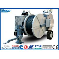 Wholesale Conductor Tension Stringing Equipment TY2x70 77kw(103hp) 14Tons Hydraulic Tensioner Cummis Engine from china suppliers