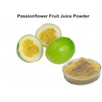 China Custom Passionflower Fruit Juice Powder Improve Juice Taste And Scent For Food on sale