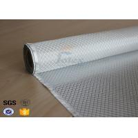 Wholesale Flame Retardant Fiberglass Fabric Silver Plated Fabric Double Sides 230g from china suppliers