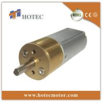 China customized shaft light duty 12v dc geared motor on sale