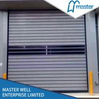 Buy cheap Insulated Rapid Aluminum spiral Roller Shutter Door in automatic high speed from wholesalers