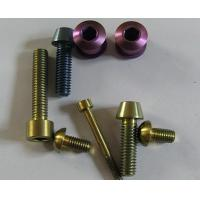 Wholesale Titanium Alloy Ti6Al4V Titanium Screws for Bicycle from china suppliers