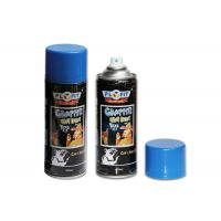 Yelloe / Red / Blue Graffiti Spray Paint Fast Dry For Surface Finishing And Mending  on any wall painting for sale