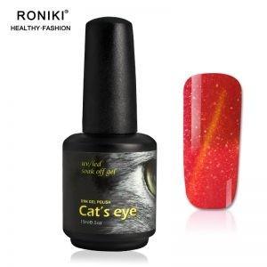 China RONIKI Color Changing Cat Eye Gel,Colorful Cat Eye Gel,Variety Cat Eye Gel,Cat Eye Gel,chameleon gel nail polish on sale