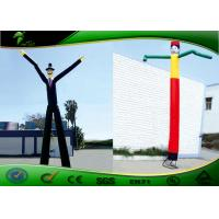 China Fire - Resistance Inflatable Waving Arm Man Air Sky Dancer For Exhibition on sale