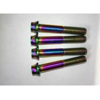 Wholesale Colorful titanium Ti bolts screws for bike bicycle motor car from china suppliers