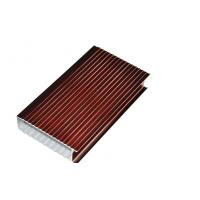Wholesale Wood Grain Aluminum Frame / Aluminium Profile For Living Room Decoration from china suppliers