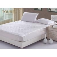 Wholesale Custom Microfiber Filling Hotel Mattress Protector Hypoallergenic Quilted Luxury Mattress Protector from china suppliers