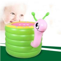 Wholesale New Kids Baby Swimming Pools Inflatable Snail Bathtub Water Fun Round Pool from china suppliers