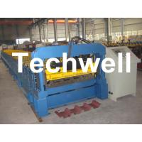 China Chromadek IBR Roof Panel Roll Forming Machine With 0 - 15 m/min Working Speed on sale