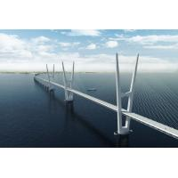Wholesale Modular Steel Cable Suspension Bridge Rigid Frame High Strength from china suppliers