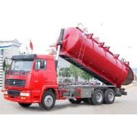 Buy cheap 12M3 Sewage Suction Truck 6X4, 10 wheel garabe collection truck,toilet rubish sucktion , sewage collector from wholesalers