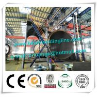 China 120T Cement Tank Welding Rotator , Pipe Welding Rotator For Tank And Vessel on sale