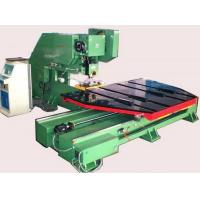 Quality CNC Sheet Metal Punching Machine High Efficiency With Feeding Platform for sale