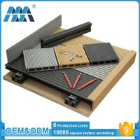 Wholesale factory waterproof balcony flooring wood plastic composite decking tiles from china suppliers