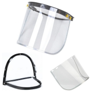 Wholesale Oil Splash Transparent PET Anti Fog Visor Face Shield from china suppliers
