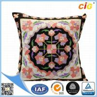 China Faux Fur / Polyester Multi Color Square Pillow  Home Textile Products for Couch on sale
