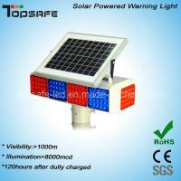 Wholesale New Design Solar Powered LED Traffic Warning Flashing Light with CE (TP-BS-4M4N) from china suppliers