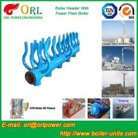 Quality High Temperature Boiler Header Manifolds with Boiler Manifold Piping for sale