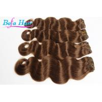 Wholesale Soft Smooth Body Wave Red Violet / Wine Red Hair Extensions 34 Inch from china suppliers