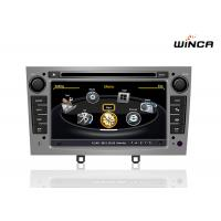 Buy cheap 8 core android 6.0 car dvd player for peugeot 408 308 308SW have 2g ram 32 g rom from wholesalers