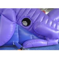 Quality Customized Size Commercial Inflatable Slide, 18ft Inflatable Dinosaur Slide For Kids for sale