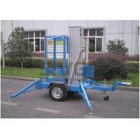 Wholesale 6 Meter Trailer Type Vertical Mast Lift Aerial Work Platform For Street Working from china suppliers