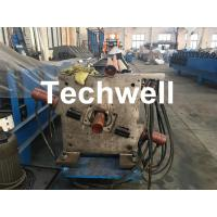 Wholesale Aluminum Or Galvanized Steel Round Downspout Roll Forming Machine For Making Water Pipe, Rainwater from china suppliers