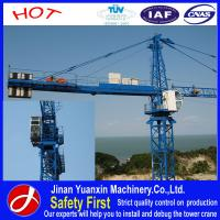 Wholesale Yuanxin factory price 8t YX5613 tower crane for sale from china suppliers