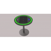 China 30W 6.7V 20Ah Solar Power Charging Table With Ring Light on sale
