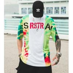 China 2019 Men's New Latest Design Hip Hop Printed Short Sleeve Sport T Shirt for sale