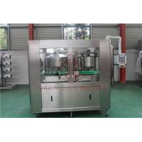 Juice Bottle Beverage Can Filling Machine With Shrink Wrap Packaging Machine for sale