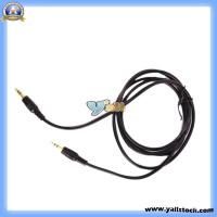 Wholesale Stereo Cable 3.5mm Aux Auxiliary Cord Cable for iPod MP3 Car -CL118 from china suppliers