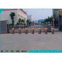 Wholesale Vehicle Retractable Automatic Security Bollards Crashproof Easy Installation from china suppliers