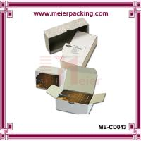 Wholesale Rigid set up business card boxes/Duplex paper business card box ME-CD043 from china suppliers