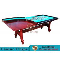 Wholesale Stable H - Shaped Legs Casino Poker Table With Three Anti - Static Tablecloths from china suppliers
