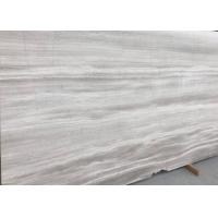 Wholesale Decorative Athena Grey Marble Tile , Bathroom Wood Look Marble Cut To Size from china suppliers