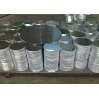China 3mm Thick Blank Aluminum Discs , DC Rolled Polished Aluminum Circle Blanks on sale