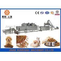 Buy cheap Commercial Automatic Pet Food Extruder , Animal Feed Processing Equipment from wholesalers