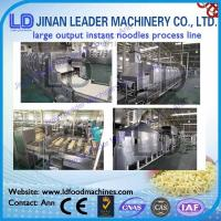 Wholesale Instant noodle making Machine Automatic instant noodle processing line from china suppliers