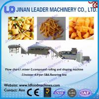 Wholesale small scale food processing equipment Fried wheat flour snacks process line from china suppliers