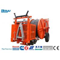 Buy cheap 2x80kN Cummins Hydraulic Cable Tensioner Transmission Line Stringing Equipment from wholesalers